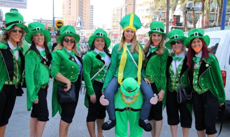 Saint Patrick´s Day in Benidorm 2019
