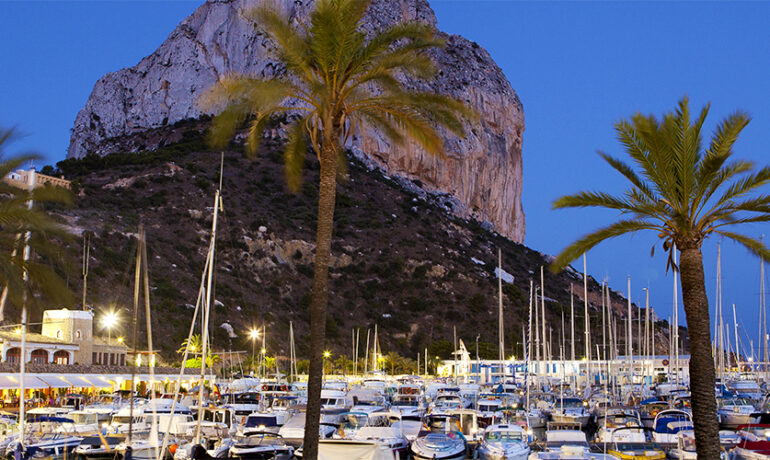 Calpe Fishing Port and Marina