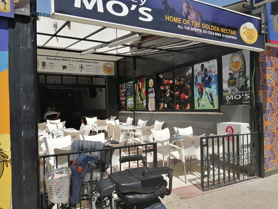 Smokey Mo's Sports Bar Benidorm